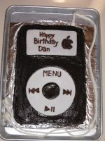 Chocolate iPod Cake by VictoriaCakes