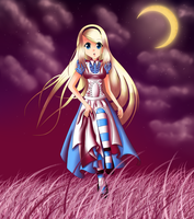 Alice in Wonderland by xxfangirlkillerxx
