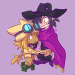 TF/Disgaea: Fulcrum and Misfire by Fulcrumisthebomb