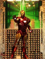 Iron Man by WatchTower513