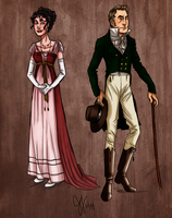 Lucia and Kerr: Regency Styles by Capella336