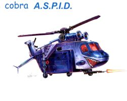 Helicopter cobra ASPID by rickmastervazquez