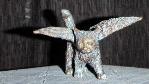 Small Bronze Fledercat by LEXLOTHOR