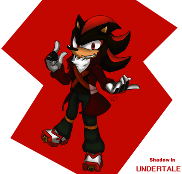 Request: Shadow in Undertale by StoryMasterPurple