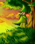 Snufkin by PoppingBubble
