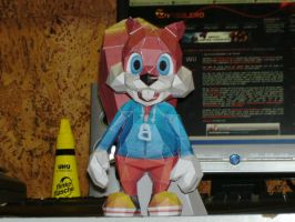 Papercraft Conker by Esteban1988