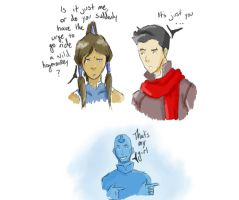 Side Effects of Being the Avatar by theOriginalKEA