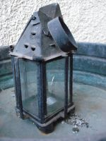 rusty lantern by ftourini-stock