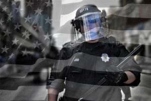 police black-flag by echnique