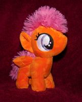 Scootaloo MLP CMC filly plushie by GothyBeans
