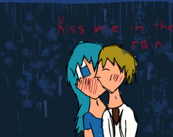 'Kiss Me in The Rain' - Cee/Cadin by TealSeraphim