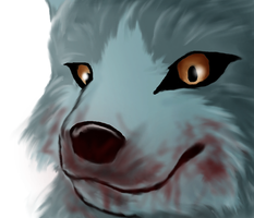 Realistic wolf practise by J-Wolvie