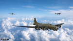 B-17G Heading Out by Tom2099
