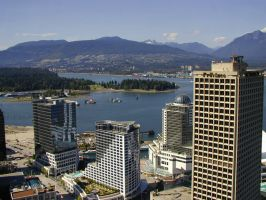 Vancouver City by danielcraggs