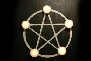Candle Pentacle 2 by ky-sta