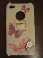 Shabby Chic Iphone Case by deadhorseart