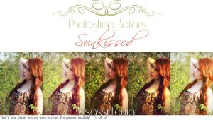 Sunkissed Photoshop Actions by AssassinLenna