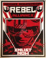 Rebel Alliance Duct Tape Art by DuctTapeDesigns