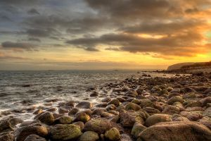 Whitehead Sunset by marklewisphotography