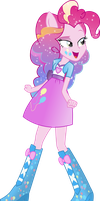 Equestria Girls: Pinkie Pie Rainbowfied by TheShadowStone