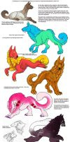 SD - Some Gaia Stuff/Dogs by GhostTheZombie