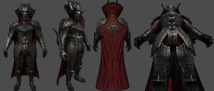 Drakul Armor For Skyrim by Zerofrust