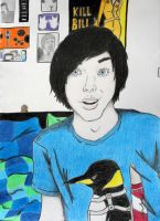 AmazingPhil Phil Lester by SydneyNicole
