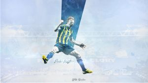 Dirk Kuyt - Wallpaper by ufuuk7
