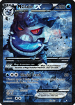 Shiny Mega Glalie EX card by Metoro