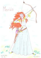 Merida by Merliniara