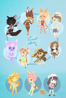 .:Summer Dogs:. by Pieology