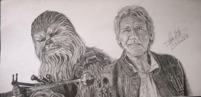 Chewie we're home! by LaurenDahmer