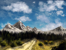 Mountain Trip by RiseUndead