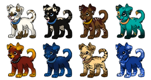 Dog Adoptables - Closed by IsiLaHamy