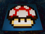 Super Mario Power-Up Mushroom by nintentofu