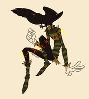 headless scarecrow [DESIGN] by VCR-WOLFE