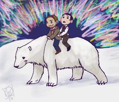 Eames And Arthur Do Alaska by avalonauggie