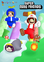 _-Super Mario Friends-_ by InuKii