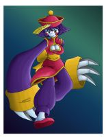 Lei Lei - Darkstalkers Tribute by Ian-the-Hedgehog