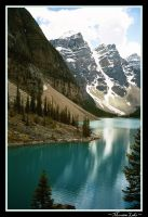 Moraine Lake by Katjakay