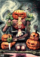 Pumpkin puke by jmmk86
