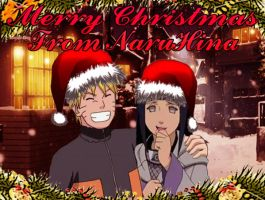 Merry Christmas from NaruHina by 777luck777