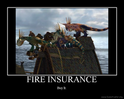 Dragon Motivational Poster by pichud
