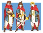The Three Musketeers by AbyssWatchers