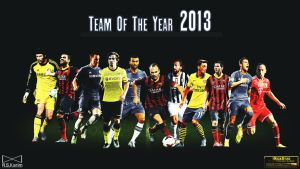 Fifa Team of the Year 2013 by eL-Kira
