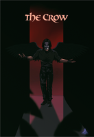 The Crow - Eric Draven by InvisibleRainArt