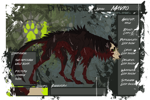 Mavro new ref for Di Vernice by Gutter-Mutt