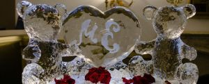Lovely Sculptures @ Wedding by icycoolmaria