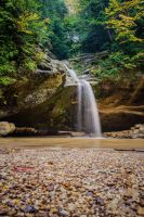 Lower Falls - Hocking Hills Ohio by stockphotosource