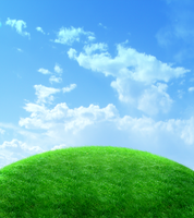 hilltop premade background by yellowicous-stock